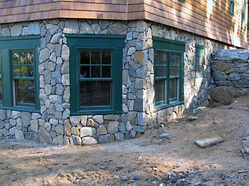 Meyer masonry mason contractors in new hampshire massachusetts southern maine - Houses with stone veneer facades ...